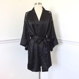 Flora Nikrooz Sleepwear Margot Kimono Lace Robe.